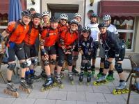 Speedteam-, Windbrecher und Hollies-Starter