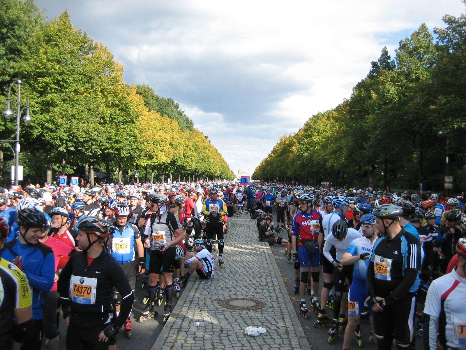 Berlin-Marathon vor dem Start